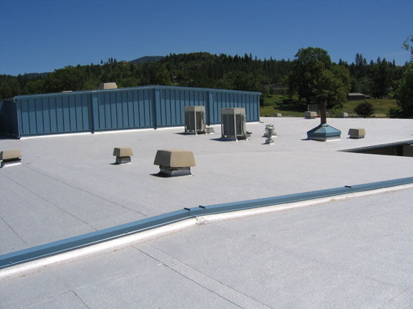 Designed For Low Slope Or Flat Roofs, Modified Bitumen Provides An  Effective Means For Moving Water Off Of The Building. Widely Known As The  Most Common ...