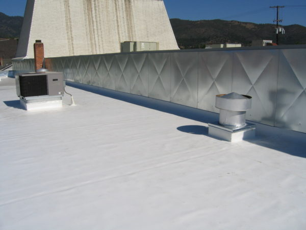 Single Ply Roofing Is Constructed Using Flexible Sheets Of Compounded  Synthetic Materials Manufactured For Strength, Flexibility, And Durability.