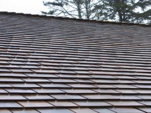 WOOD SHINGLE STEEP SLOPE